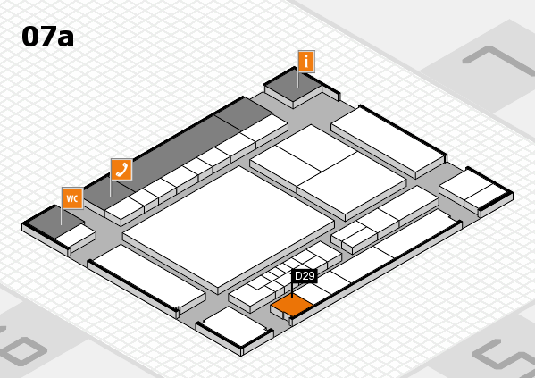 interpack 2017 hall map (Hall 7a): stand D29
