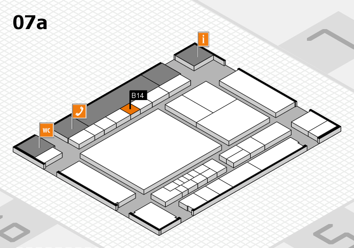 interpack 2017 hall map (Hall 7a): stand B14
