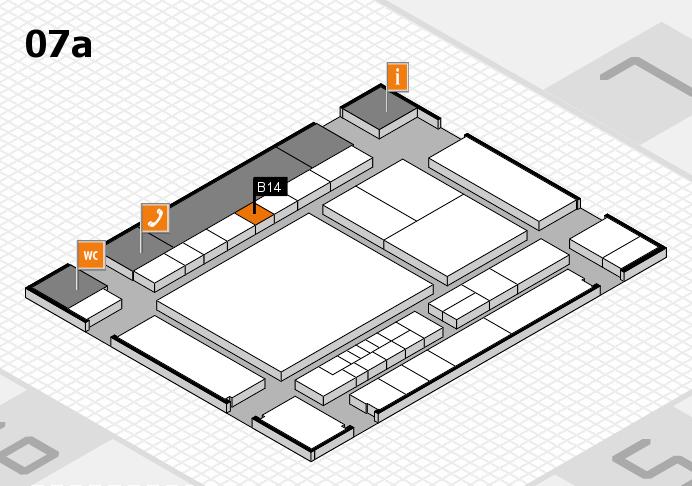 interpack 2017 Hallenplan (Halle 7a): Stand B14