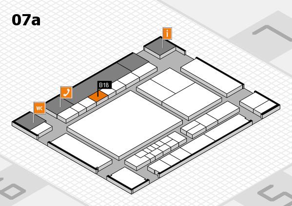 interpack 2017 Hallenplan (Halle 7a): Stand B18