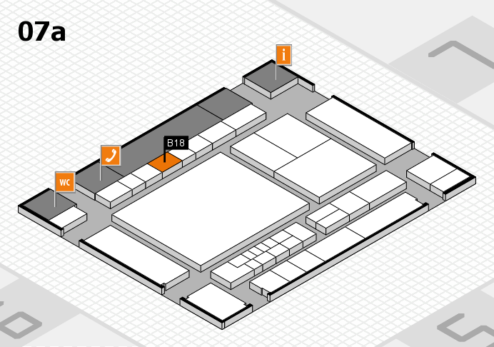 interpack 2017 hall map (Hall 7a): stand B18
