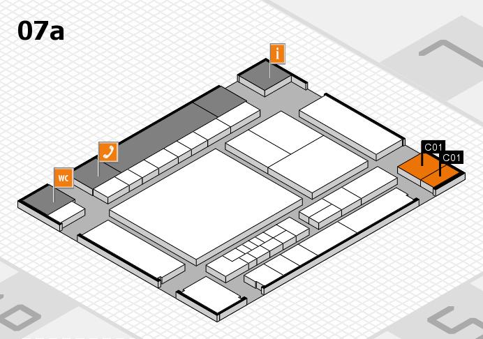 interpack 2017 Hallenplan (Halle 7a): Stand C01
