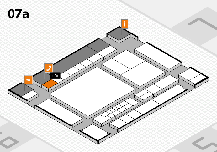 interpack 2017 hall map (Hall 7a): stand B28
