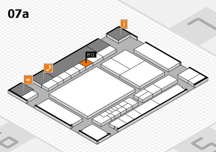 interpack 2017 Hallenplan (Halle 7a): Stand B12