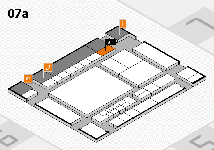 interpack 2017 hall map (Hall 7a): stand B02