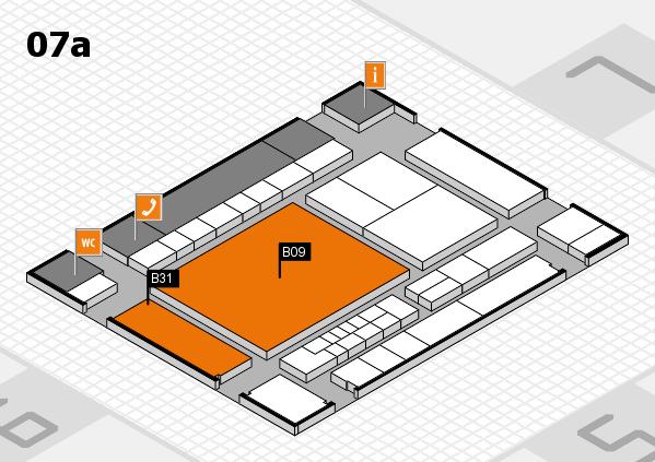 interpack 2017 Hallenplan (Halle 7a): Stand B09, Stand B31