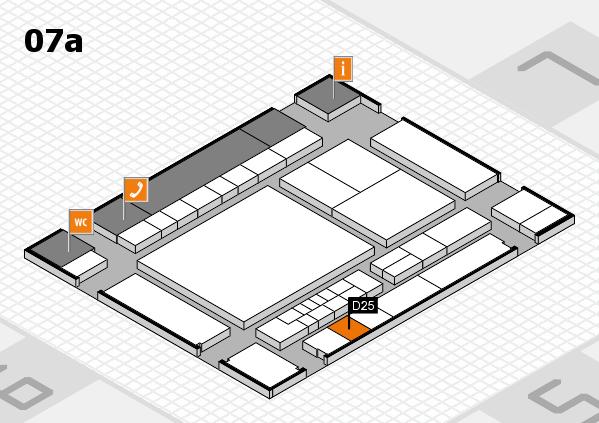 interpack 2017 Hallenplan (Halle 7a): Stand D25