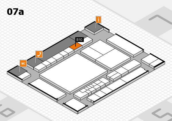 interpack 2017 hall map (Hall 7a): stand B10