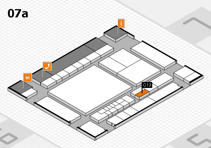 interpack 2017 hall map (Hall 7a): stand C13