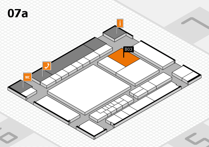 interpack 2017 hall map (Hall 7a): stand B03