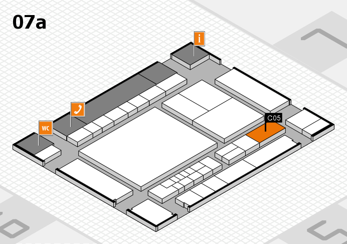 interpack 2017 hall map (Hall 7a): stand C05