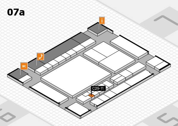 interpack 2017 hall map (Hall 7a): stand C29-11
