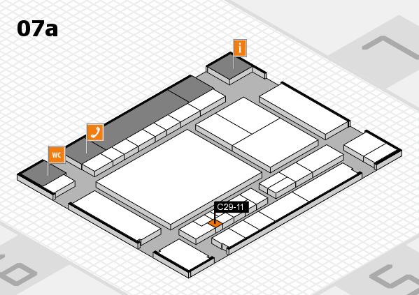 interpack 2017 Hallenplan (Halle 7a): Stand C29-11