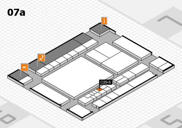 interpack 2017 hall map (Hall 7a): stand C29-6