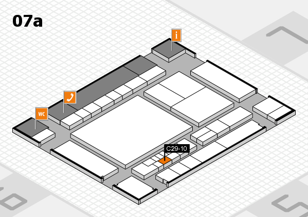 interpack 2017 hall map (Hall 7a): stand C29-10