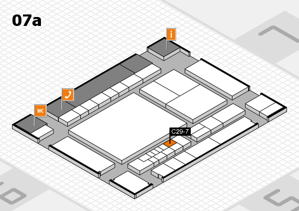 interpack 2017 hall map (Hall 7a): stand C29-7