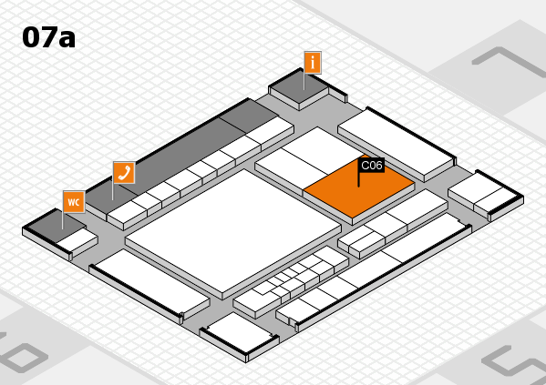 interpack 2017 hall map (Hall 7a): stand C06.C10