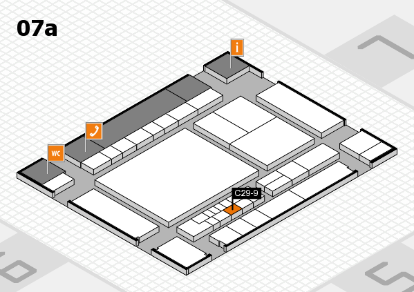 interpack 2017 hall map (Hall 7a): stand C29-9