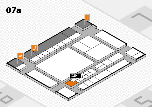 interpack 2017 hall map (Hall 7a): stand C29-1