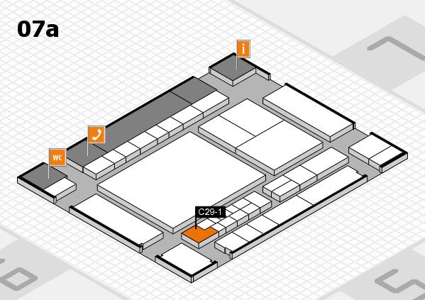 interpack 2017 Hallenplan (Halle 7a): Stand C29-1