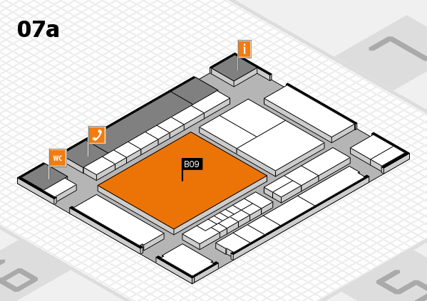 interpack 2017 hall map (Hall 7a): stand B09