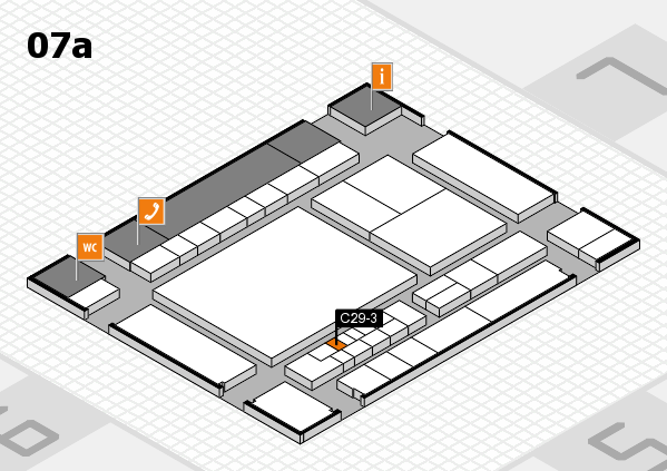interpack 2017 hall map (Hall 7a): stand C29-3