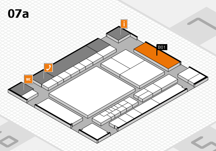 interpack 2017 hall map (Hall 7a): stand B01.C02