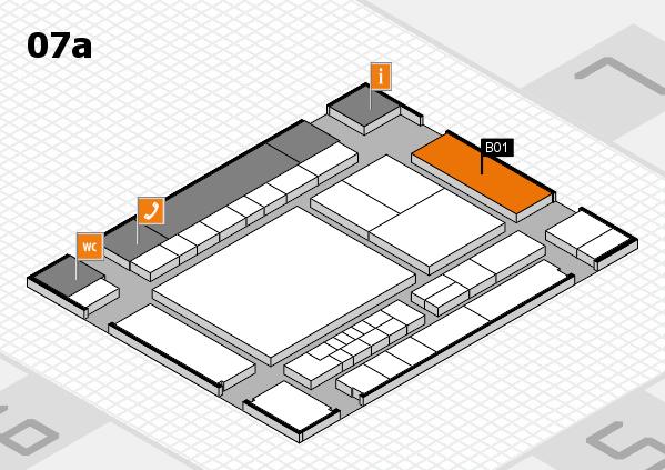 interpack 2017 Hallenplan (Halle 7a): Stand B01.C02
