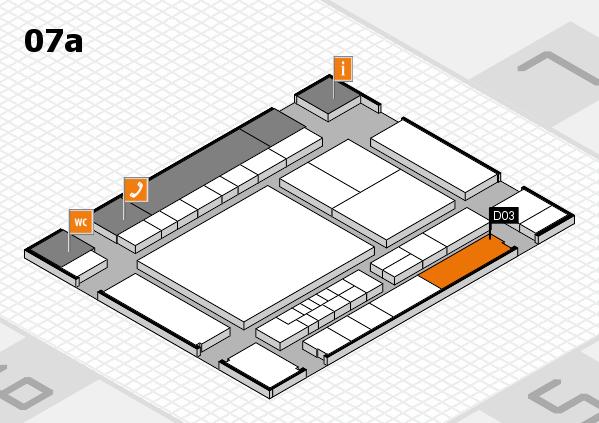 interpack 2017 Hallenplan (Halle 7a): Stand D03