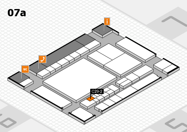 interpack 2017 hall map (Hall 7a): stand C29-2