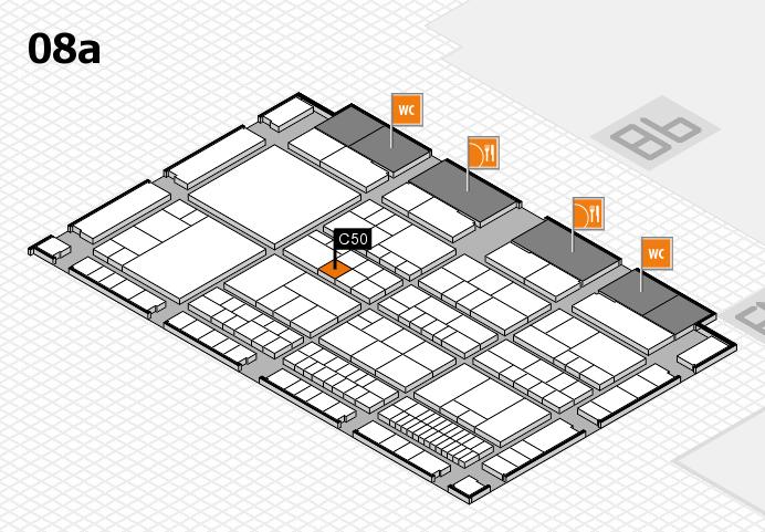 interpack 2017 Hallenplan (Halle 8a): Stand C50