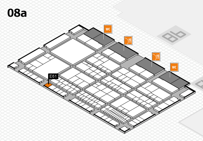 interpack 2017 hall map (Hall 8a): stand E61