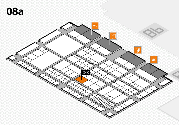 interpack 2017 hall map (Hall 8a): stand D40