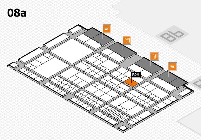 interpack 2017 Hallenplan (Halle 8a): Stand B26