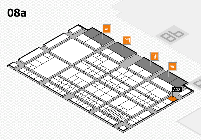 interpack 2017 hall map (Hall 8a): stand A03
