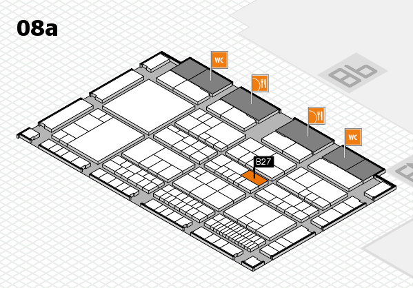 interpack 2017 hall map (Hall 8a): stand B27