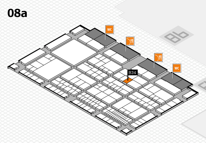 interpack 2017 hall map (Hall 8a): stand B34