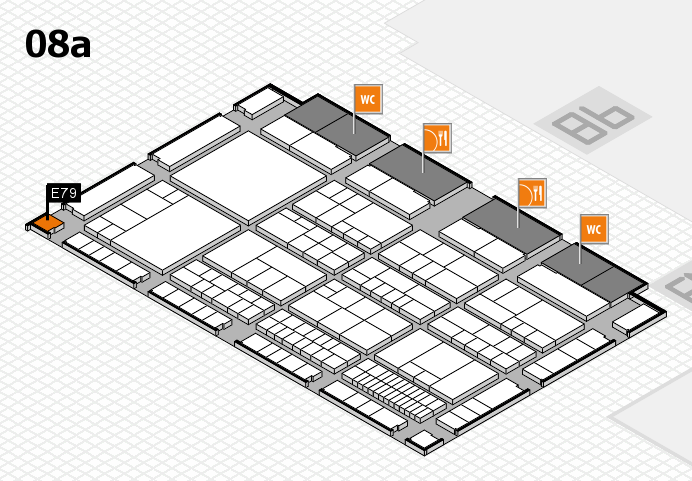 interpack 2017 Hallenplan (Halle 8a): Stand E79