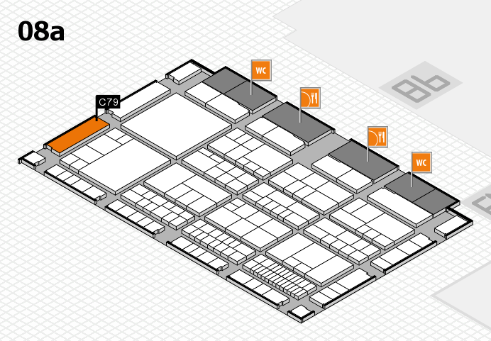 interpack 2017 hall map (Hall 8a): stand C79