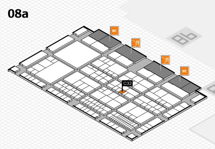 interpack 2017 Hallenplan (Halle 8a): Stand C32