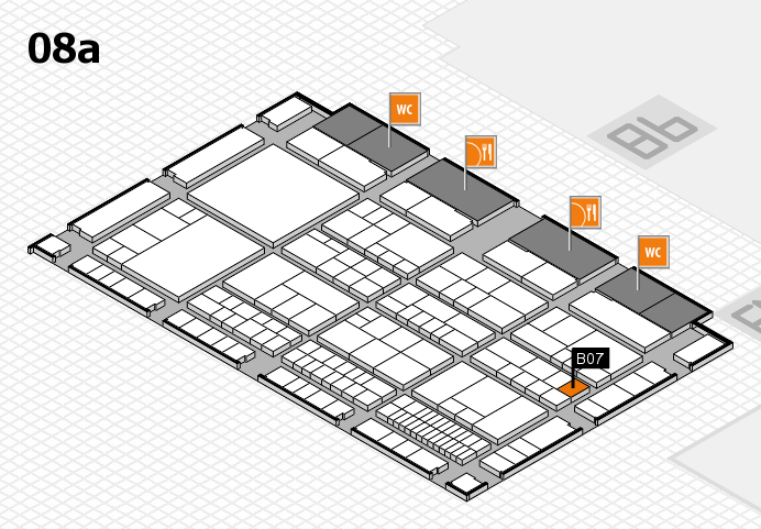 interpack 2017 hall map (Hall 8a): stand B07