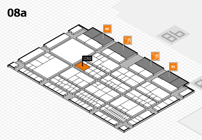 interpack 2017 hall map (Hall 8a): stand C60