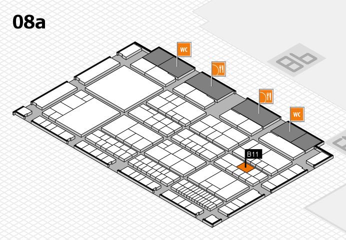 interpack 2017 Hallenplan (Halle 8a): Stand B11