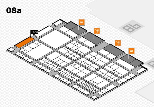 interpack 2017 Hallenplan (Halle 8a): Stand C79