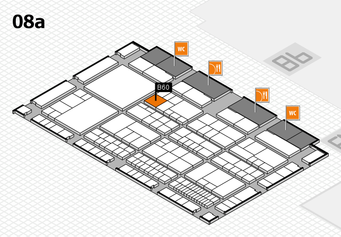 interpack 2017 hall map (Hall 8a): stand B60