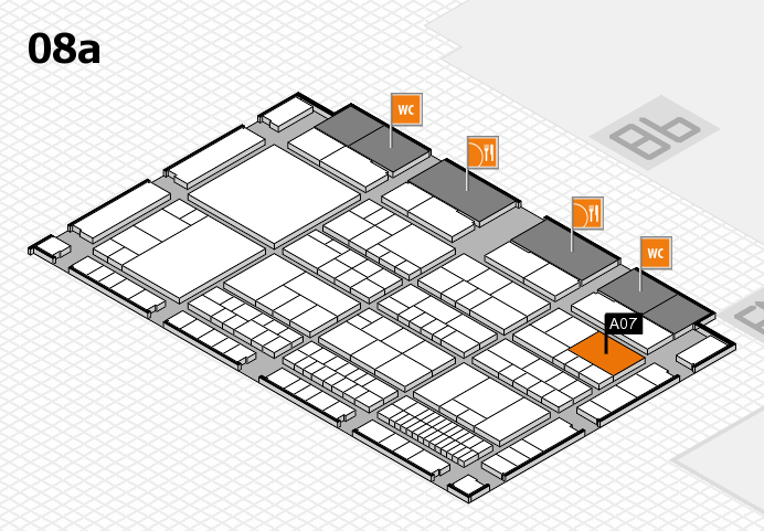 interpack 2017 hall map (Hall 8a): stand A07