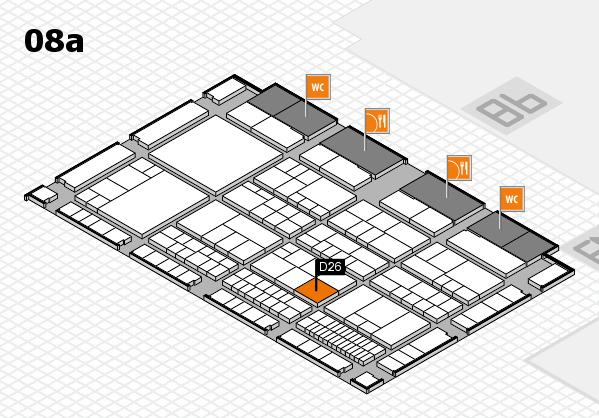 interpack 2017 Hallenplan (Halle 8a): Stand D26
