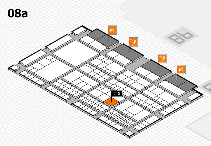 interpack 2017 hall map (Hall 8a): stand D26