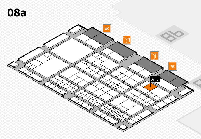 interpack 2017 hall map (Hall 8a): stand A15
