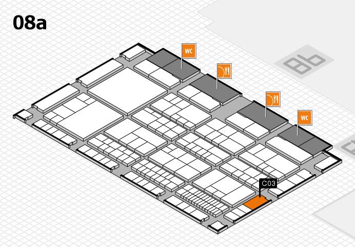 interpack 2017 Hallenplan (Halle 8a): Stand C03